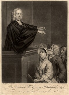 George Whitefield, by John Faber Jr, printed for  John Bowles, after  John Wollaston - NPG D4782