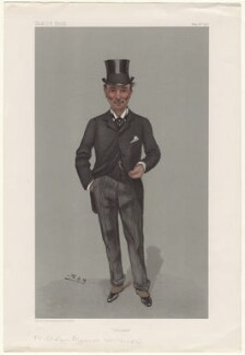Charles Algernon Whitmore, by Sir Leslie Ward - NPG D4784