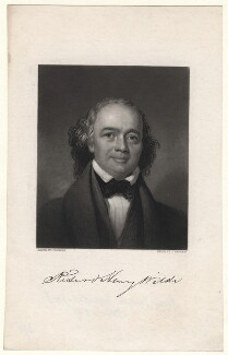 Richard Henry Wilde, by John Sartain, after  Johnson - NPG D4790