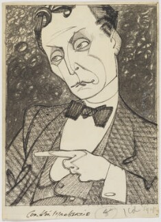 Compton Mackenzie, by Robert Stewart Sherriffs - NPG D48