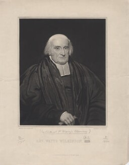 William Watts Wilkinson, by Thomas Goff Lupton, after and published by  Edward Fancourt - NPG D4808