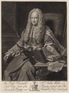 Sir John Willes, by Johnson, after  Thomas Hudson, 1746 - NPG D4814 - © National Portrait Gallery, London