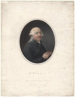 Francis Willis, by Joseph Collyer the Younger, after  John Russell - NPG D4816