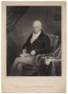 John Broadley Wilson, by Thomas Goff Lupton, after  George Sharples - NPG D4828