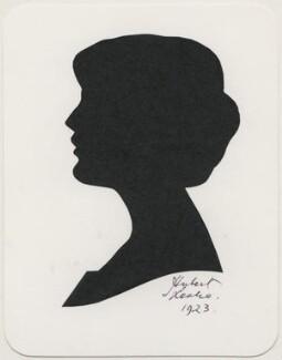 Iris Hoey, by Hubert Leslie - NPG D483