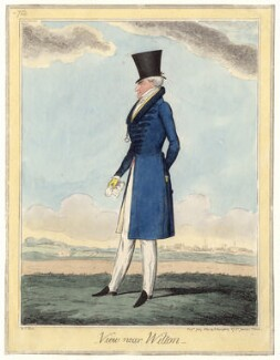 Possibly George Augustus Herbert, 11th Earl of Pembroke, by (Isaac) Robert Cruikshank, published by  George Humphrey - NPG D4831