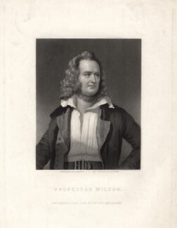 Professor Wilson, by John Sartain, after  Duncan - NPG D4838