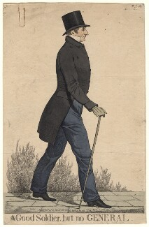 Sir Robert Thomas Wilson ('A good soldier, but no general'), by and published by Richard Dighton - NPG D4841