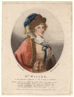 Sarah Wilson as Harriet in Holcroft's 'Seduction', by William Nelson Gardiner, published by  Edward Harding, after  Silvester (Sylvester) Harding - NPG D4850