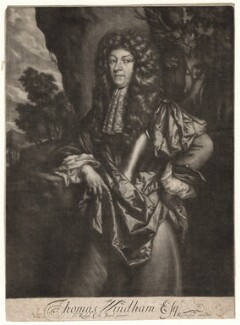 Thomas Windham, published by Richard Tompson, after  Sir Ralph Cole, 1678-1679 - NPG  - © National Portrait Gallery, London