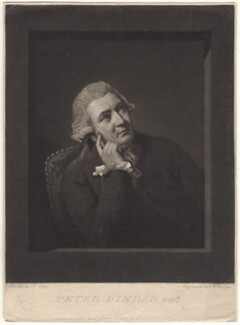 John Wolcot, by Charles Howard Hodges, published by  T. Smith, after  John Opie - NPG D4859