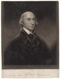 Hon. William Windham, by William Say, after  John Hoppner - NPG D4861