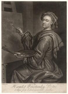 Hamlet Winstanley, by John Faber Jr, published by  John Faber Jr, after  Hamlet Winstanley - NPG D4865