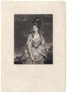 Sarah Wodehouse (née Campbell), by Samuel William Reynolds, published by  Hodgson & Graves, after  Sir Joshua Reynolds - NPG D4870