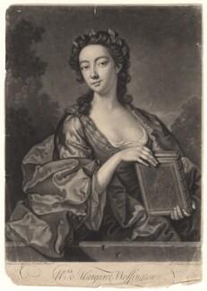 Peg Woffington, by John Faber Jr, after  John Giles Eccardt, 1745 - NPG D4872 - © National Portrait Gallery, London