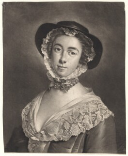 Peg Woffington as Phebe, by and after Peter van Bleeck - NPG D4879