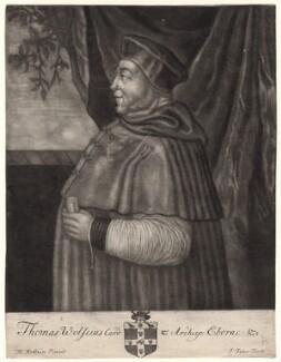Thomas Wolsey, by John Faber Sr - NPG D4888