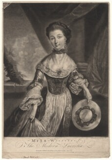 Sarah Woodcock, by Jane Thompson, published by  John Williams - NPG D4891