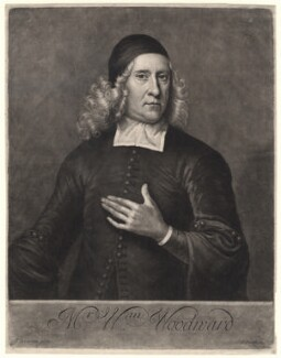 William Woodward, by John Smith, after  Jeremiah Taverner - NPG D4895