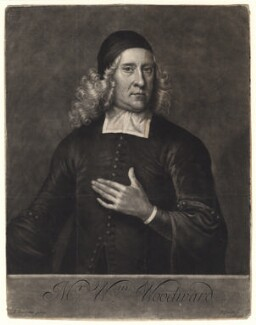William Woodward, by John Smith, after  Jeremiah Taverner - NPG D4896