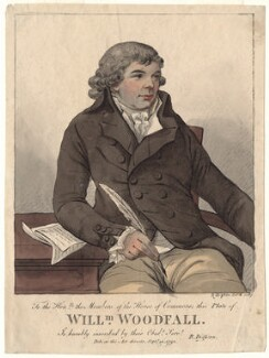 William Woodfall, by Robert Dighton - NPG D4904