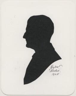 Sir Alfred Scott Scott-Gatty, by Hubert Leslie - NPG D491