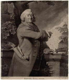James Worsdale, by William Dickinson, after  Robert Edge Pine - NPG D4914