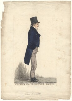 'Charley the principal=d broker' (Charles Wright), by and published by Richard Dighton - NPG D4921