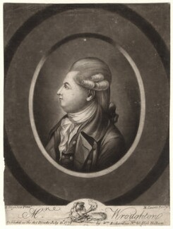 Richard Wroughton, by Robert Laurie, published by  William Richardson, after  Robert Dighton - NPG D4923