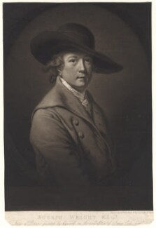 Joseph Wright, by James Ward, after  Joseph Wright, published 1807 - NPG D4925 - © National Portrait Gallery, London