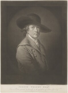 Joseph Wright, by James Ward, after  Joseph Wright, published 1807 - NPG D4926 - © National Portrait Gallery, London