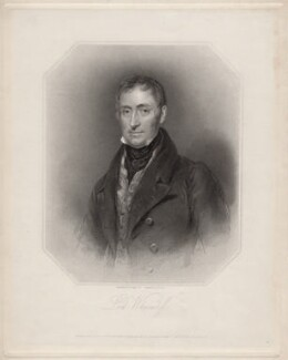 James Stuart-Wortley-Mackenzie, 1st Baron Wharncliffe, by Francis Holl, after  Henry Perronet Briggs - NPG D4937