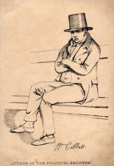William Cobbett, by Daniel Maclise - NPG D4939
