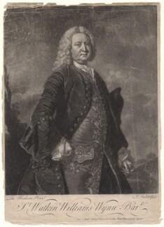 Sir Watkin Williams Wynn, 3rd Bt, by and sold by John Faber Jr, after  Thomas Hudson - NPG D4945