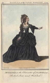 Mary Ann Yates as Isabella in Garrick's 'Isabella; or, The Fatal Marriage', after James Roberts - NPG D4955
