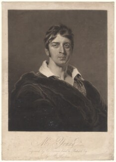 Charles Mayne Young, by Charles Turner, after  George Henry Harlow - NPG D4965