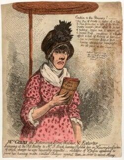 Jane Gibbs ('Mrs Gibbs the notorious street-walker, and extorter'), by James Gillray, published 23 September 1799 - NPG D4967 - © National Portrait Gallery, London