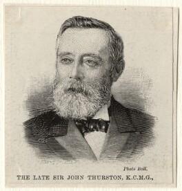Sir John Bates Thurston, by Paul Hermann Naumann, after  Unknown photographer - NPG D4984