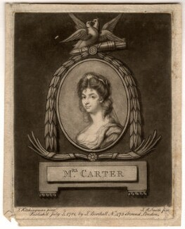 Unknown sitter called Elizabeth Carter, by John Raphael Smith, published by  James Birchall, after  John Kitchingman, published 3 July 1781 - NPG D4998 - © National Portrait Gallery, London