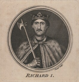 King Richard I ('the Lionheart'), by Proud, after  Unknown artist - NPG D5011
