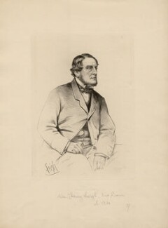 William Henry Leigh, 2nd Baron Leigh, probably by Frederick Sargent, after a photograph by  Netterville Briggs - NPG D5056