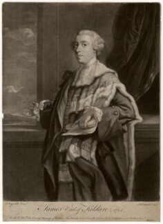 James Fitzgerald, 1st Duke of Leinster when Earl of Kildare, by James Macardell, published by  Michael Ford, after  Sir Joshua Reynolds - NPG D5057