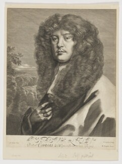 Sir Peter Lely, by Arnold de Jode, published by  Richard Tompson, after  Sir Peter Lely, circa 1666 - NPG  - © National Portrait Gallery, London