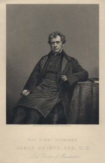 James Prince Lee, by Daniel John Pound, after a photograph by  Alfred Brothers - NPG D5038