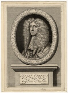 Thomas Osborne, 1st Duke of Leeds ('Lord Danby'), by Abraham Blooteling (Bloteling), after  Sir Peter Lely - NPG D5039