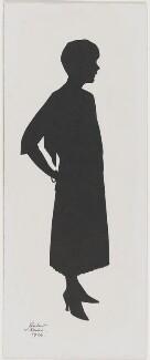 Sylvia Leonora (née Brett), Lady Brooke, Ranee of Sarawak, by Hubert Leslie - NPG D504