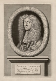 Thomas Osborne, 1st Duke of Leeds ('Lord Danby'), by Abraham Blooteling (Bloteling), after  Sir Peter Lely - NPG D5041