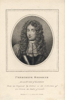 Peregrine Osborne, 2nd Duke of Leeds, after Jean Petitot - NPG D5042