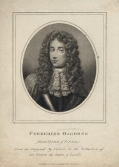 Peregrine Osborne, 2nd Duke of Leeds, published by John Scott, after  Jean Petitot - NPG D5043