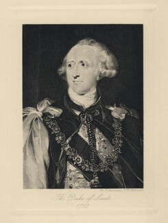 Francis Osborne, 5th Duke of Leeds, after Sir Thomas Lawrence - NPG D5044